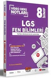 Benim Hocam Yayıncılık - Benim Hocam Yayınları LGS 8. Sınıf Fen Bilimleri Video Ders Notları