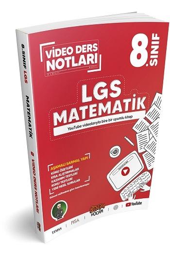 Benim Hocam Yayınları LGS 8.Sınıf Matematik Video Ders Notları