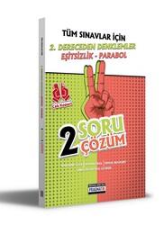 Benim Hocam Yayıncılık - Benim Hocam Yayınları Tüm Sınavlar İçin 2. Dereceden Denklemler - Eşitsizlik - Parabol 2 Soru 2 Çözüm Fasikülü