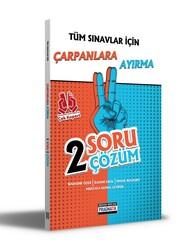Benim Hocam Yayıncılık - Benim Hocam Yayınları Tüm Sınavlar İçin Çarpanlara Ayırma 2 Soru 2 Çözüm Fasikülü
