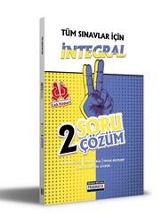 Benim Hocam Yayıncılık - Benim Hocam Yayınları Tüm Sınavlar İçin İntegral 2 Soru 2 Çözüm Fasikülü