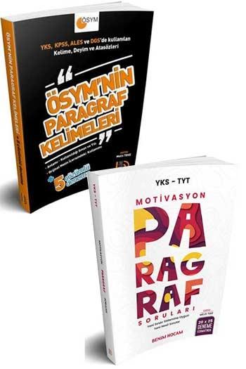 Benim Hocam Yayınları Tüm Sınavlar İçin Paragraf Kelime ve Soru Seti