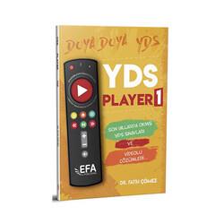 Benim Hocam Yayıncılık - Benim Hocam Yayınları YDS Player 1 Son Yıllarda Çıkmış YDS Sınavları ve Çözümleri EFA Serisi