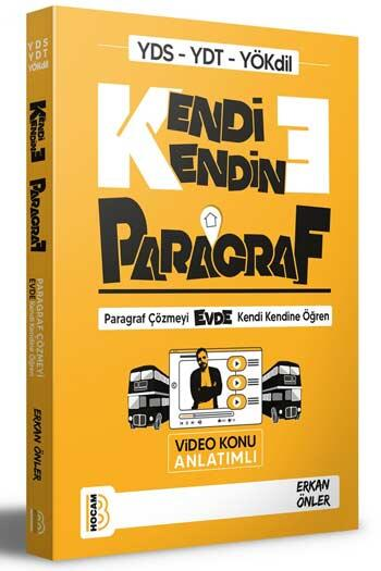 Benim Hocam Yayınları YDS YDT YÖKDİL Kendi Kendine Paragraf Video Konu Anlatımlı