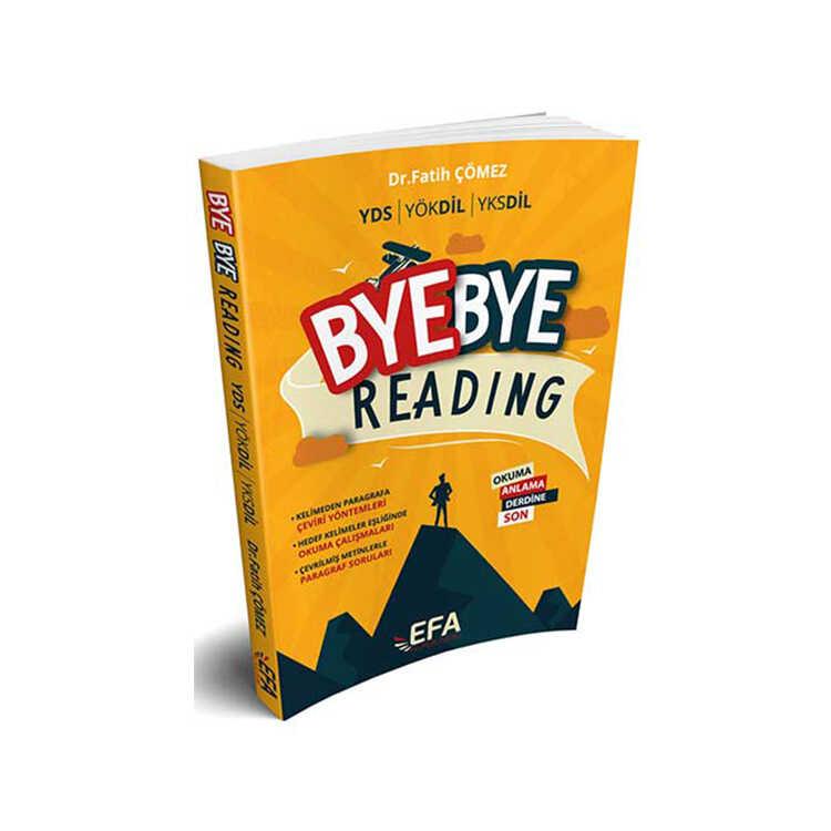 Benim Hocam Yayınları YDS YÖKDİL YKSDİL Bye Bye Reading Efa Serisi