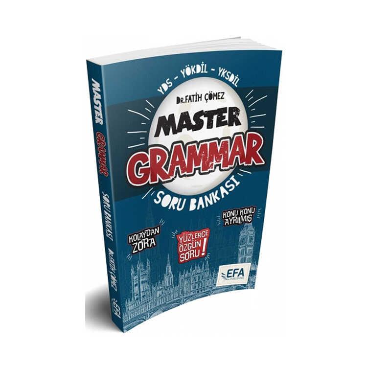 Benim Hocam Yayınları YDS YÖKDİL YKSDİL Master Grammar Kolaydan Zora Soru Bankası Efa Serisi