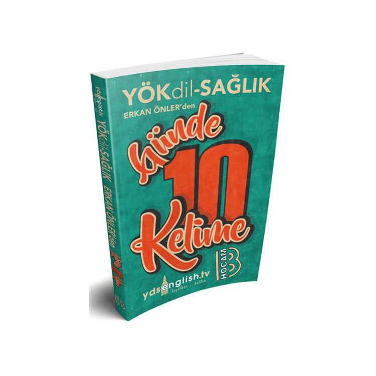 Benim Hocam Yayınları YÖKDİL Sağlık Günde 10 Kelime Cep Kitabı