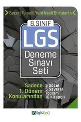 Bilgiküpü Yayınları - Bilgi Küpü Yayınları 8. Sınıf LGS 1. Dönem Deneme Sınavı Seti