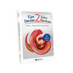 Bilgiküpü Yayınları - BilgiKüpü Yayınları 2. Sınıf Tüm Dersler Soru Bankası