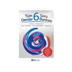 Bilgiküpü Yayınları - BilgiKüpü Yayınları 6. Sınıf Tüm Dersler Soru Bankası