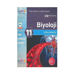 Birey Yayınları - Birey Yayınları 11. Sınıf Biyoloji Soru Bankası
