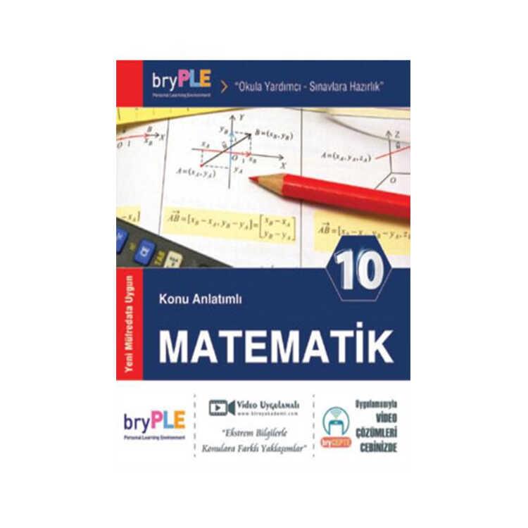 Birey Yayınları PLE 10. Sınıf Matematik Konu Anlatımlı
