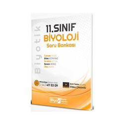 Biyotik Yayınları - Biyotik Yayınları 11. Sınıf Biyoloji Soru Bankası