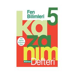 Bloktest Yayınları - Bloktest Yayınları 5. Sınıf Fen Bilimleri Kazanım Defteri