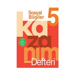 Bloktest Yayınları - Bloktest Yayınları 5. Sınıf Sosyal Bilgiler Kazanım Defteri