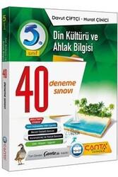 Çanta Yayınları - Çanta Yayınları 5. Sınıf Din Kültürü ve Ahlak Bilgisi 40 Deneme
