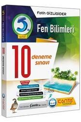 Çanta Yayınları - Çanta Yayınları 5. Sınıf Fen Bilimleri 10 Deneme