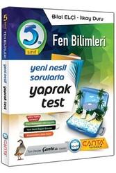 Çanta Yayınları - Çanta Yayınları 5. Sınıf Fen Bilimleri Yaprak Test