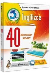 Çanta Yayınları - Çanta Yayınları 5. Sınıf İngilizce 40 Deneme