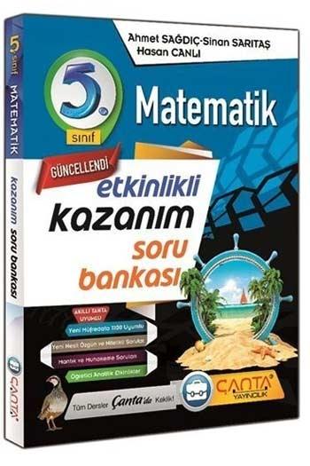 Çanta Yayınları 5. Sınıf Matematik Etkinlikli Kazanım Soru Bankası