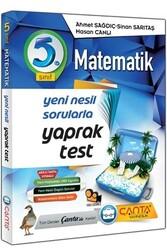 Çanta Yayınları - Çanta Yayınları 5. Sınıf Matematik Yaprak Test