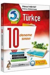 Çanta Yayınları - Çanta Yayınları 5. Sınıf Türkçe 10 Deneme
