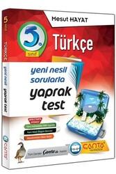 Çanta Yayınları - Çanta Yayınları 5. Sınıf Türkçe Yaprak Test