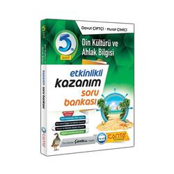 Çanta Yayınları - Çanta Yayınları 5.Sınıf Din Kültürü ve Ahlak Bilgisi Kazanım Soru Bankası