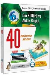 Çanta Yayınları - Çanta Yayınları 6. Sınıf Din Kültürü ve Ahlak Bilgisi 40 Deneme