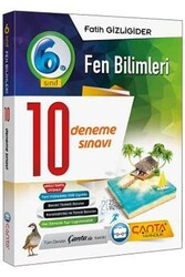 Çanta Yayınları - Çanta Yayınları 6. Sınıf Fen Bilimleri 10 Deneme