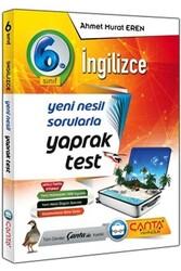 Çanta Yayınları - Çanta Yayınları 6. Sınıf İngilizce Yaprak Test