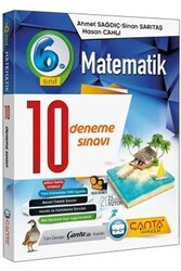 Çanta Yayınları - Çanta Yayınları 6. Sınıf Matematik 10 Deneme