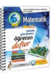 Çanta Yayınları - Çanta Yayınları 6. Sınıf Matematik Öğreten Defter