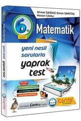 Çanta Yayınları - Çanta Yayınları 6. Sınıf Matematik Yaprak Test