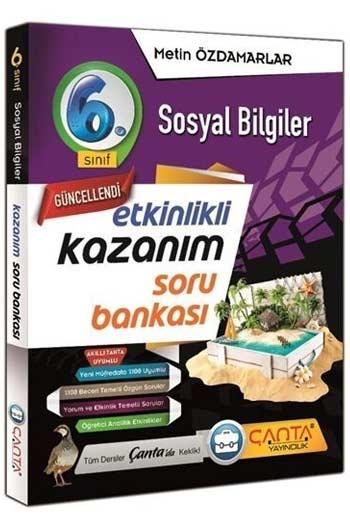 Çanta Yayınları 6. Sınıf Sosyal Bilgiler Etkinlikli Kazanım Soru Bankası