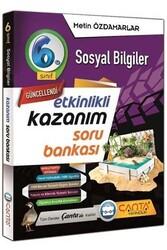 Çanta Yayınları - Çanta Yayınları 6. Sınıf Sosyal Bilgiler Etkinlikli Kazanım Soru Bankası