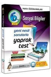 Çanta Yayınları - Çanta Yayınları 6. Sınıf Sosyal Bilgiler Yaprak Test