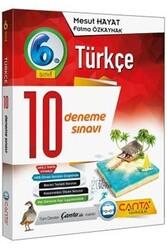 Çanta Yayınları - Çanta Yayınları 6. Sınıf Türkçe 10 Deneme