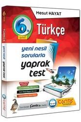 Çanta Yayınları - Çanta Yayınları 6. Sınıf Türkçe Yaprak Test