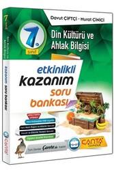 Çanta Yayınları - Çanta Yayınları 7. Sınıf Din Kültürü ve Ahlak Bilgisi Etkinlikli Kazanım Soru Bankası