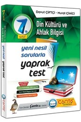 Çanta Yayınları - Çanta Yayınları 7. Sınıf Din Kültürü ve Ahlak Bilgisi Yaprak Test