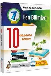 Çanta Yayınları - Çanta Yayınları 7. Sınıf Fen Bilimleri 10 Deneme