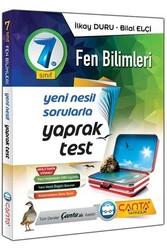 Çanta Yayınları - Çanta Yayınları 7. Sınıf Fen Bilimleri Yaprak Test