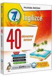 Çanta Yayınları - Çanta Yayınları 7. Sınıf İngilizce 40 Deneme