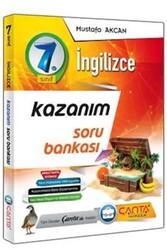 Çanta Yayınları - Çanta Yayınları 7. Sınıf İngilizce Kazanım Soru Bankası