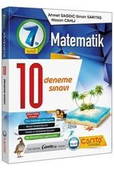 Çanta Yayınları - Çanta Yayınları 7. Sınıf Matematik 10 Deneme