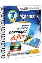 Çanta Yayınları - Çanta Yayınları 7. Sınıf Matematik Hazırlayan Defter