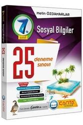 Çanta Yayınları - Çanta Yayınları 7. Sınıf Sosyal Bilgiler 25 Deneme