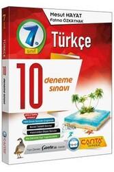 Çanta Yayınları - Çanta Yayınları 7. Sınıf Türkçe 10 Deneme