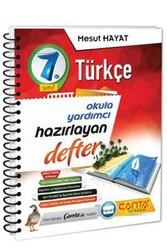 Çanta Yayınları - Çanta Yayınları 7. Sınıf Türkçe Hazırlayan Defter